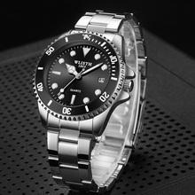Męskie zegarki 2020 męskie zegarki kwarcowe męskie zegarki Top marka luksusowe Relogio Masculino wojskowe zegarki Meski dla sportu tanie tanio Tephea 22cm Moda casual QUARTZ 3Bar Bransoletka zapięcie CN (pochodzenie) Ze stopu 11mm Hardlex Kwarcowe Zegarki Na Rękę