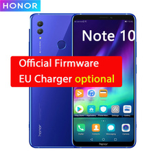 "Honor Note 10 4G LTE 휴대 전화 Kirin 970 Android 8.1 6.9 ""2220X1080 6GB RAM 64GB ROM 24.0MP NFC 지문"