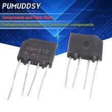10 pces kbp210 2a zip4 1000v ponte retificador novo e ic