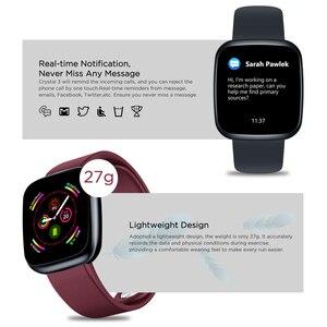 Image 4 - [Value King]Zeblaze Crystal 3 Smartwatch WR IP67 Heart Rate Blood Pressure Long Battery Life IPS Color Display Smart Watch