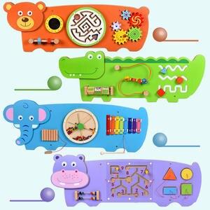 Wall-Hanging Game-Giraffe Multifunctional Early-Education Children's Kindergarten Decorative