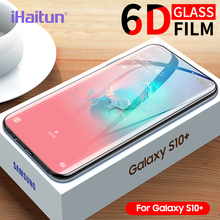 IHaitun 6D стекло для samsung Galaxy S20 Ultra Plus 5G S10 S10e S9 S8 Plus S10+ полная изогнутая Защитная пленка для экрана для samsung Note 10 Plus 9 8 закаленное стекло