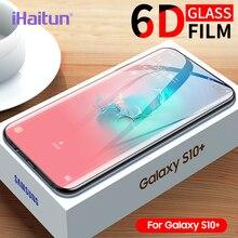 Ihaitun 6D Kính Cường Lực Dành Cho Samsung Galaxy Samsung Galaxy S20 Ultra Plus 5G S10 S10e S9 S8 Plus Full Cong Tấm Bảo Vệ Màn Hình Cho Samsung Note 10 Plus 9 8 Kính Cường Lực