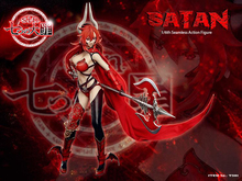In stock new 1/6 Seven Mortal Sins -Satan Ts01 Figure Full Set doll with Head Body Clothes Weapon fans collection цена 2017
