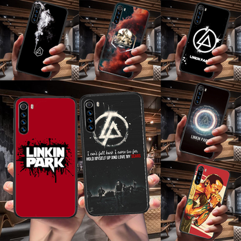 Band Linkin Rock and parks Phone Case For Xiaomi Redmi Note 7 8 8T 9 9S 4X 7 7A 9A K30 Pro Ultra black Etui 3D Funda Soft Shell image