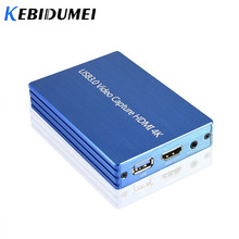 4K HDMI To USB 3.0 Video Capture Card Dongle 1080P 60fps HD Video Recorder Grabber For OBS Capturing Game Game Capture Card Live