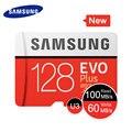 Карта памяти SAMSUNG 32G 64G 128G 256G Micro SD SDHC SDXC класс EVO + класс 10 C10 UHS TF SD карты