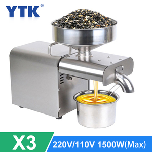 New Arrival Automatic Oil Press Machine Small Home Cold Oil Presser for Peanut Sunflower Seeds Oil Extractor