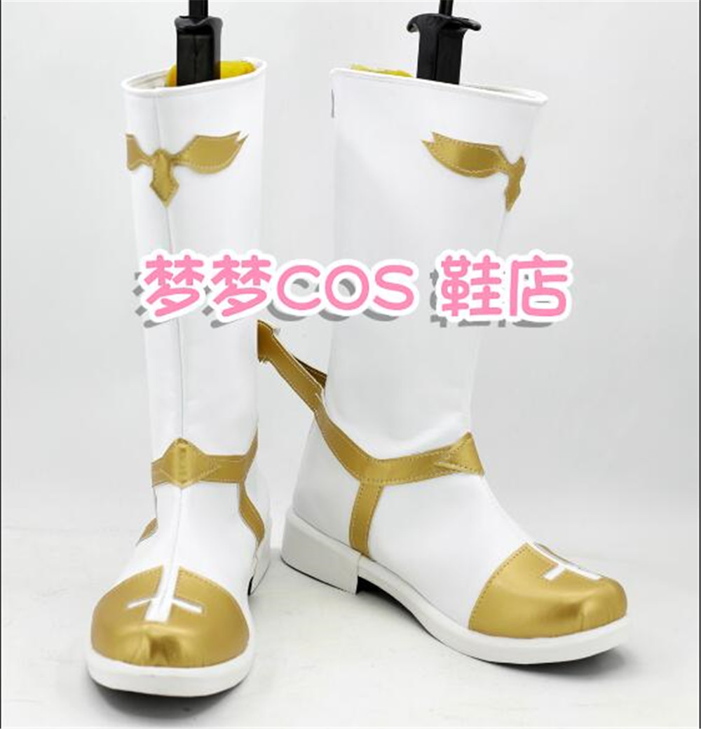 Fate Apocrypha Astolfo Cosplay Shoes Boots Halloween Christmas Carnival Shoes