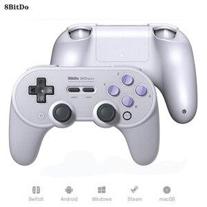 8 битдо Sn30 Pro + беспроводной Bluetooth геймпад контроллер Джойстик для Nintendo Switch PC macOS Android