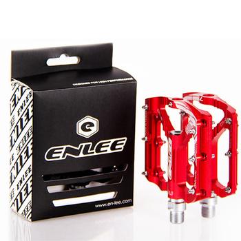 Enlee Ultralight pedał rowerowy wszystkie cnc mtb DH XC pedał do roweru górskiego L7U materiał + DU łożyska aluminiowe pedały tanie i dobre opinie Rowery górskie