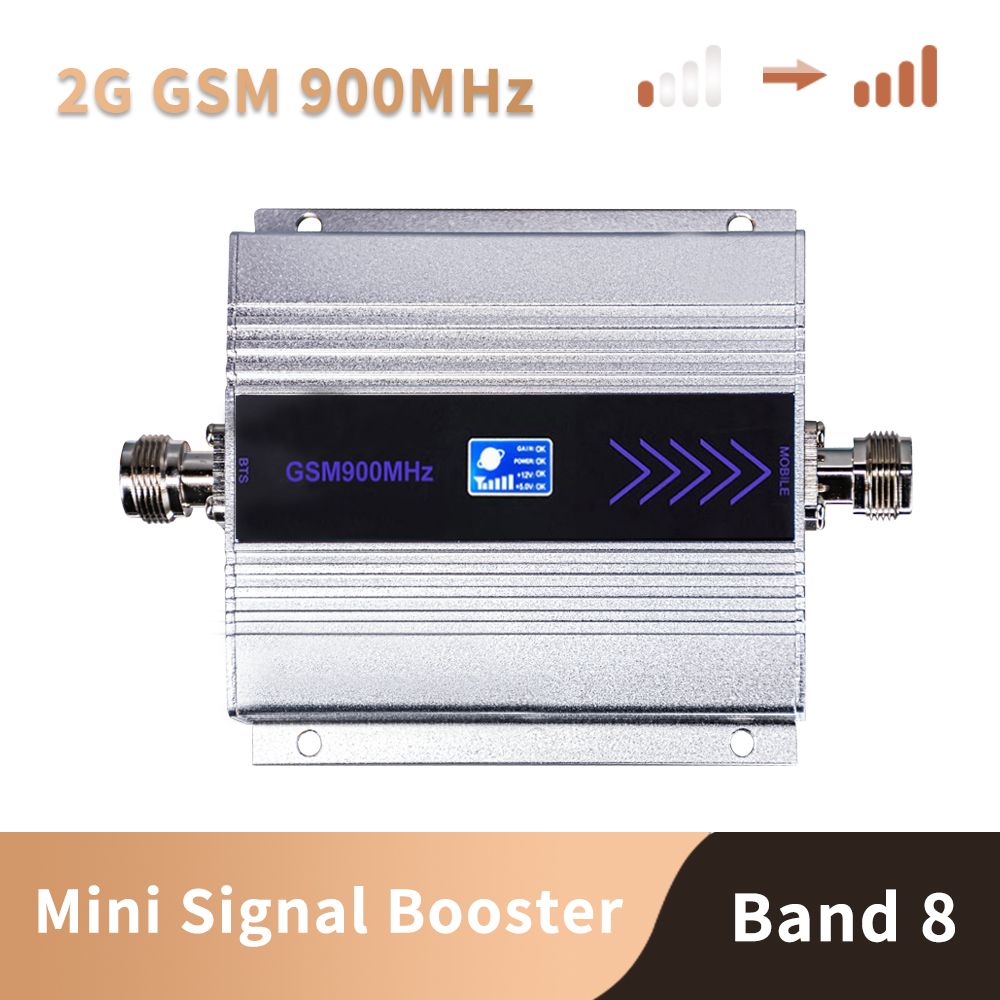 LCD Display Mini GSM Repeater 900MHz Cell Mobile Phone GSM 900 Signal Booster Amplifier