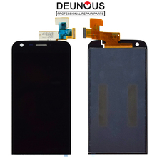 100% протестированный для LG G5 H850 H840 H860 дисплей с рамкой кодирующий преобразователь сенсорного экрана в сборе для LG G5 ЖК-дисплей Замена Черный
