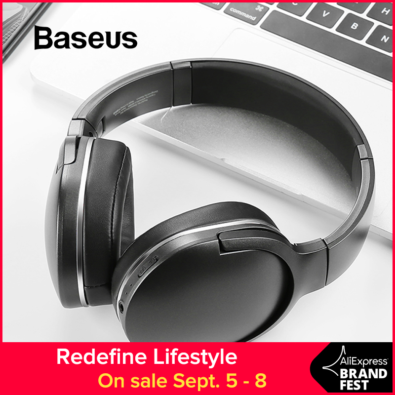 Baseus D02 Bluetooth Headphone Foldable bluetooth headset Wireless headphones Portable Bluetooth Earphone with Mic for Phone meanit m5