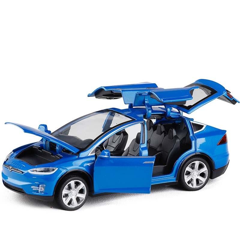 1:32 Tesla MODEL X MODEL S Paduan Model Mobil Diecasts Mainan Kendaraan Mobil Mainan Anak Mainan untuk Anak anak Hadiah Ulang Tahun mainan Gratis Pengiriman|Diecasts & Toy Kendaraan| - AliExpress
