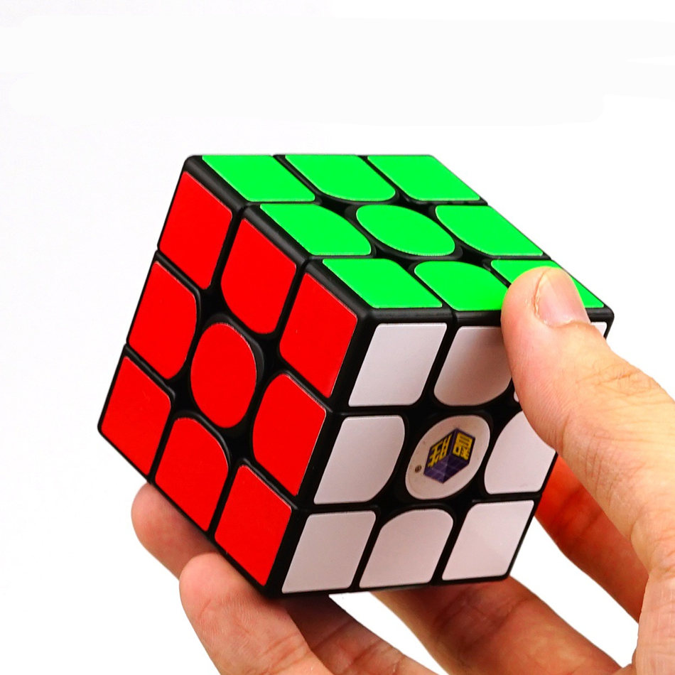 Fast Delivery Yuxin Little Magic Cube 3x3 Cube Professional Speed Puzzle Magic Cube Educational Toys For Children Toys Boys Kids