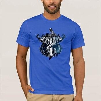 Fashion T Shirt 100% Cotton League of Legends BILGEWATER CREST T-Shirt quality fashion short sleeve men tshirt 4