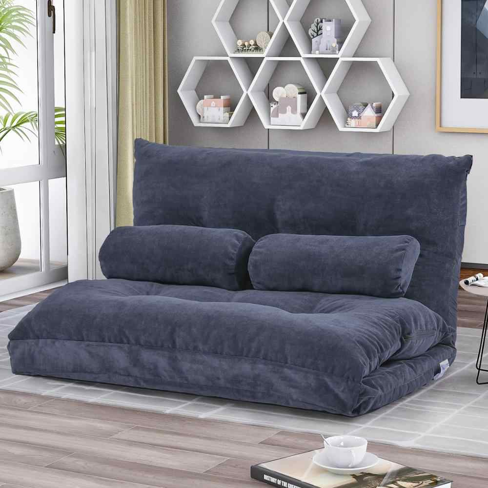 Folding Sofa Bed For Living Room Adjustable Futon Sofa Bedroom Furniture  Vedio Gaming Lounge Sofa Home Furniture