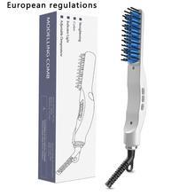 Lcd мужские прямые гребни для волос, многофункциональные гребни для волос, стильные гребни для бороды, выпрямитель для волос