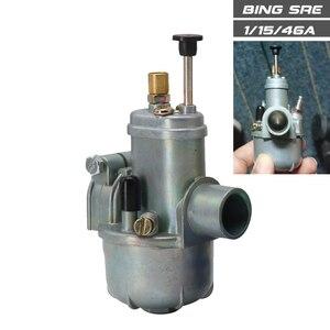 Image 3 - ALCON For Puch zundapp TUNTURI MUSTANG BING Vergaser SRE 1/15/46A Carburetor 15mm Bing Carburetor Racing Motorcycle