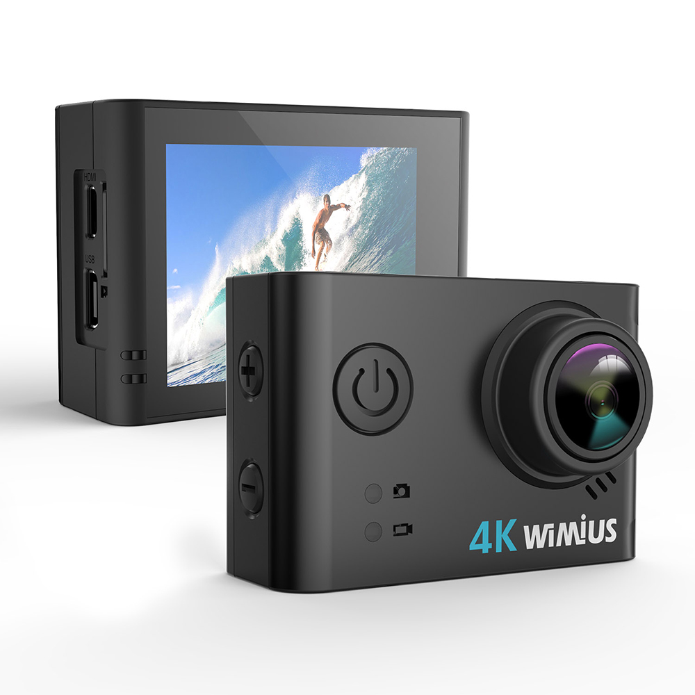 Action Camera Ultra HD 4K / 30fps 30 Meters Underwater Waterproof Cam Helmet Vedio go Sport pro Cam 170D Video Record
