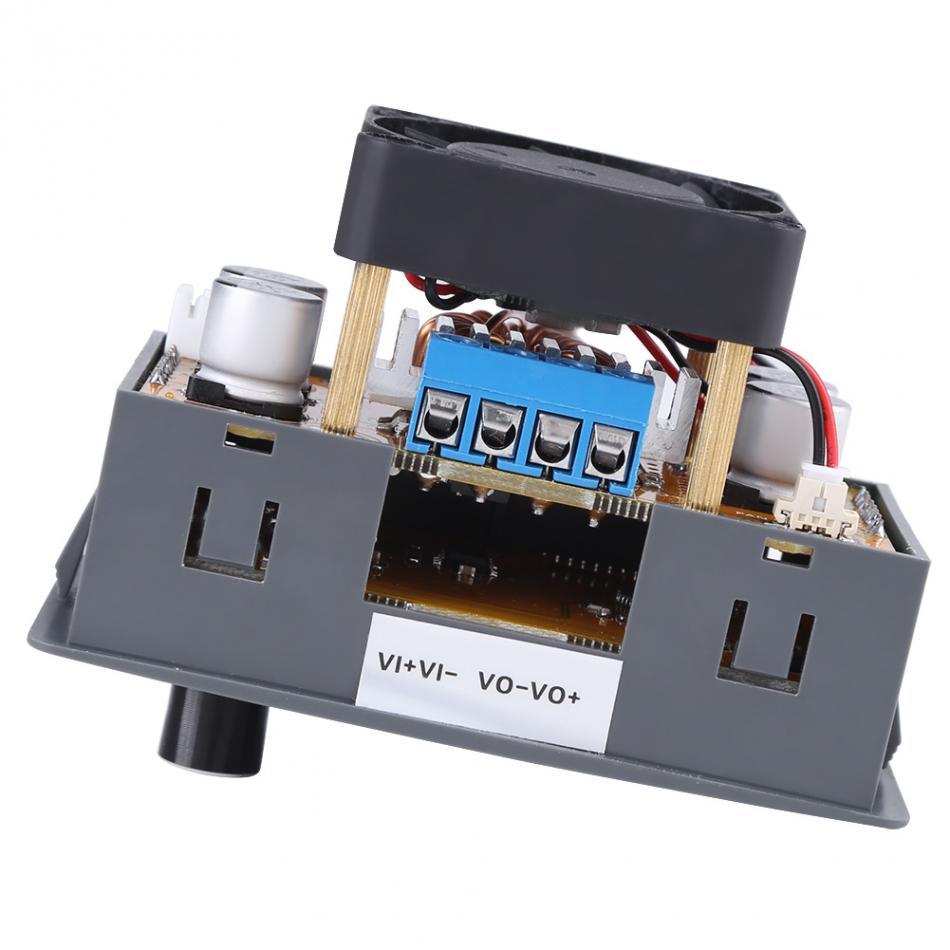 5A LCD Digital Ajustável Step-Down módulo de