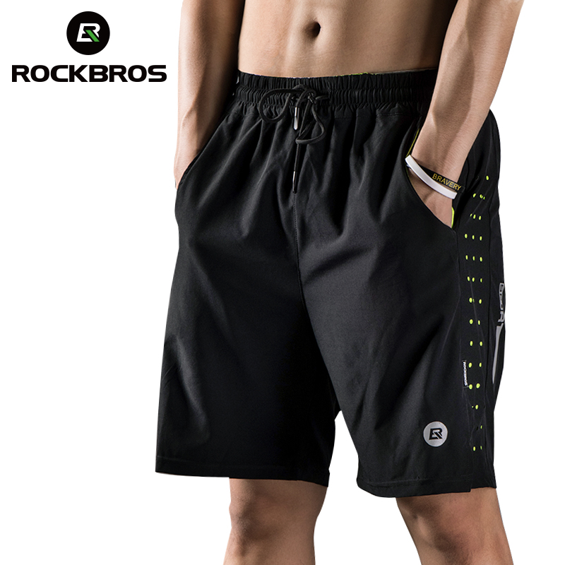 ROCKBROS 2019 Running Shorts Men Women Clothing Exercise Sports Indoor Gym Shorts Spandex Jogging Fitness Soccer Cycling Shorts