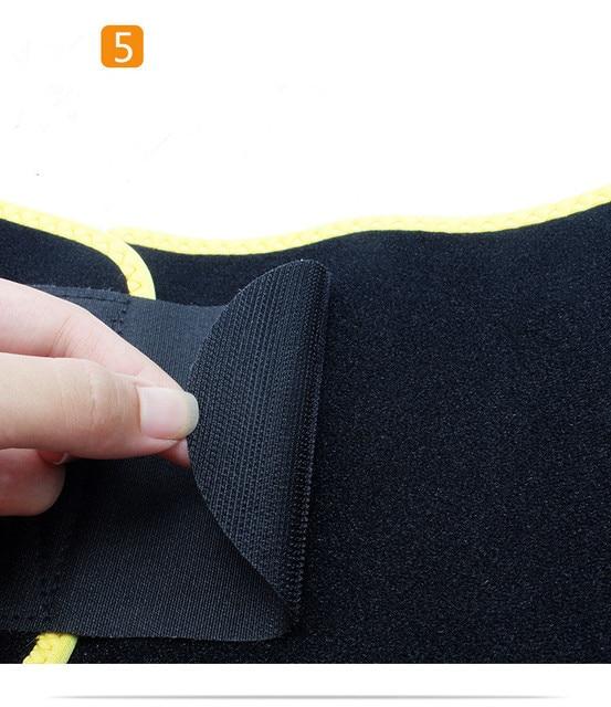 TJ-Tianjun  New Workout Sweat Belt For Waist Protection yoga Embossing Belt For Fltness Shaping Belt YX8708 4