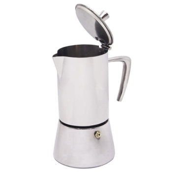 4 Cups Stainless Steel Coffee Pot Moka Coffee Maker Teapot Moka Stovetop Tool Filter Percolator Cafetiere Percolator Tool