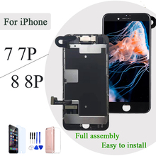 AAA Full set For iPhone 7 8 Plus P LCD Display Touch Screen Digitizer Assembly Replacement Complete 100% tested front came
