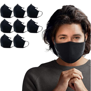 8pcs Face Mask Windbreak Seamless Outdoor Riding Quick-drying Keep Mask Breathable Mask Mascarilla Adjustable Face Cover