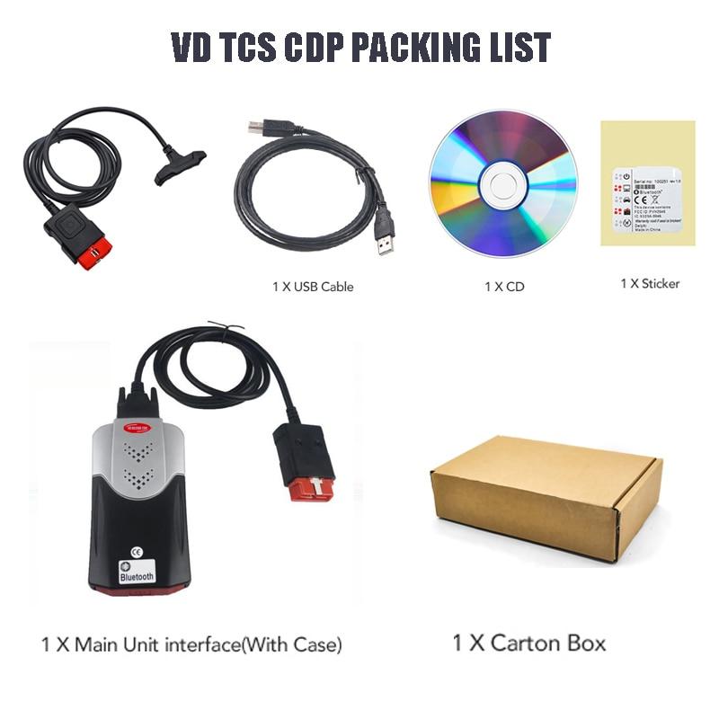 2019 VD TCS CDP PRO Plus 2016 R0 15 3 Free keygen Bluetooth vd ds150e cdp 2019 VD TCS CDP PRO Plus 2016.R0/15.3 Free keygen Bluetooth vd ds150e cdp for Delphis autocoms cars trucks OBD2 Diagnostic Tool