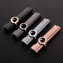 Mini Vaste Vlam Gas Aansteker Torch Turbo Lichtere Metalen Aansteker Sigaar Aanstekers Roken Accessoires Gadgets Voor Mannen