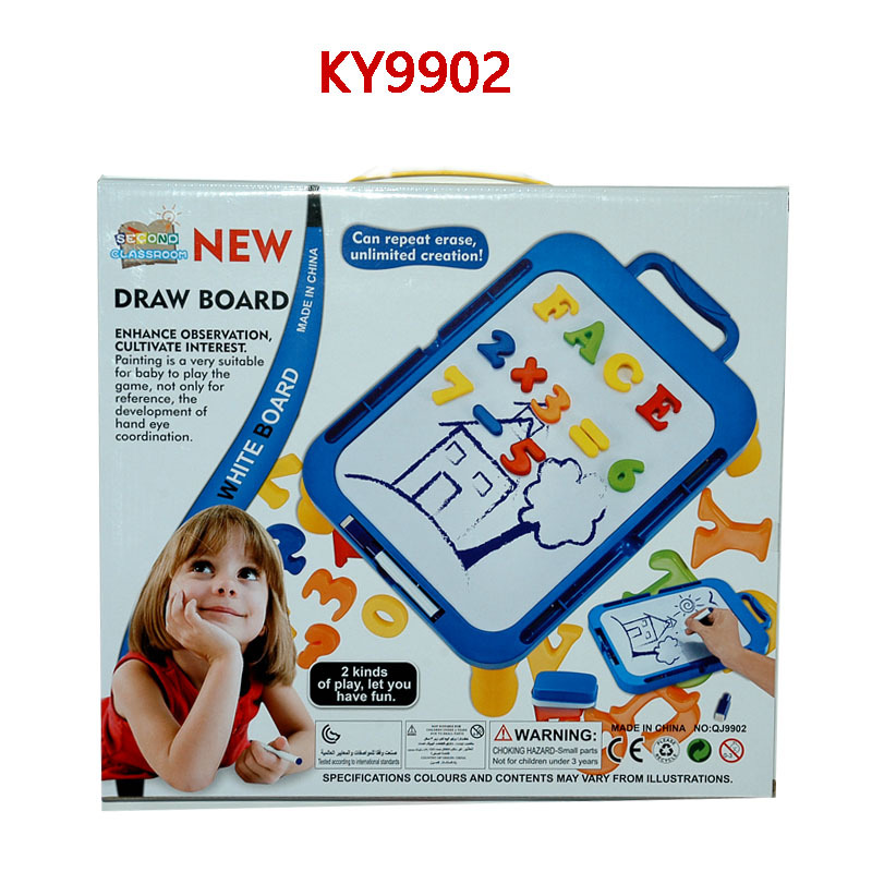 Children'S Educational Magnetic Drawing Board Painted Learning Writing Board Early Education Toy