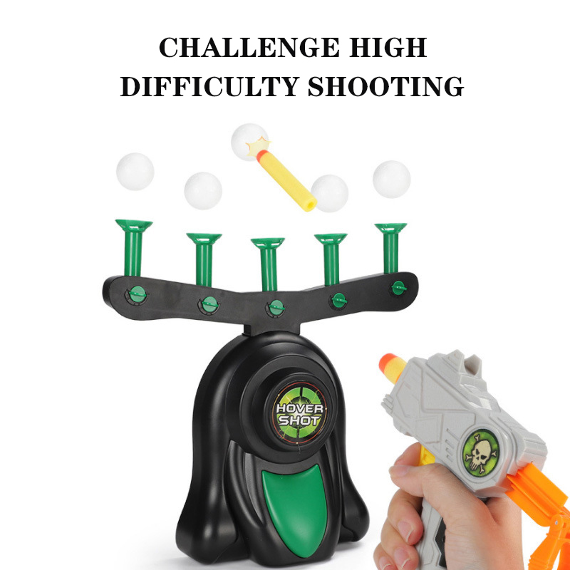 New Shooting Gun Floating Hovering Ball IndoorTarget Game Suspension Flying Ball Guns Shooting Game Kids Toys Gift