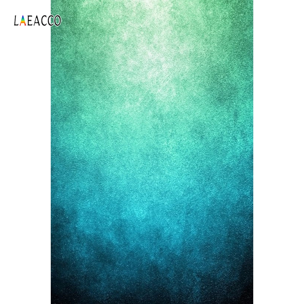 Laeacco Grunge Gradient Solid Color Portrait Photography Backgrounds Custom Camera Photographic Backdrops For Home Photo Studio