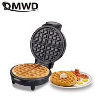 DMWD 전기 미니 와플 메이커 케이크 오븐 머핀 기계 홈 케이크 베이킹 팬 비스킷 기계 아침 식사 미니 자동