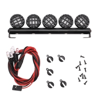 RC Multi-Function Bright LED Light Lamp Bar for 1/10 RC Crawler Traxxas TRX-4 RC Crawler RC Car