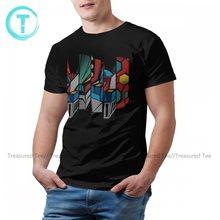 Goldorak T-Shirt Basic Fun 100 Percent Cotton T Shirt Print Short Sleeve Tee Shirt Mens Plus size