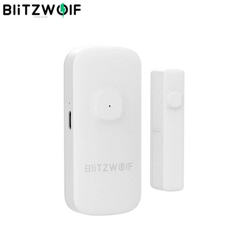 BlitzWolf BW-IS2 Zigbee Smart Home Tür & Fenster Sensor Öffnen/Schließen APP Remote Alarm Home Safty Gegen Thef Smart fernbedienung