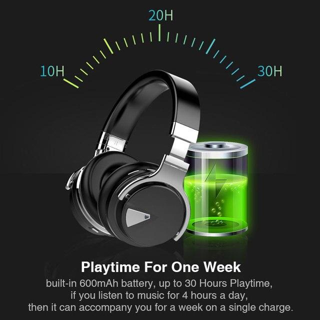 Cowin E-7 Bluetooth Headphones anc active noise cancelling 3