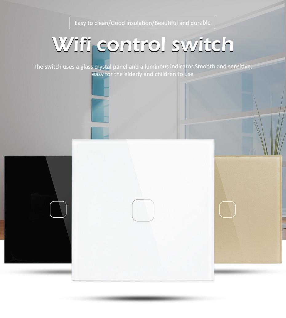 Interruptor táctil Wifi