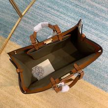Marca designer de alta qualidade bolsa de couro popular grande capacidade bolsa inclinada em todo o saco feminino