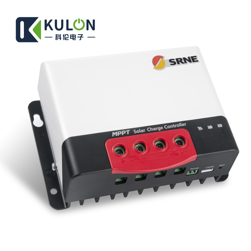 Image 4 - SRNE MC2420N10 20A 12v 24v make sky blue MPPT Solar Charge Controller for 18650 lithium batteries solar regulator-in Solar Controllers from Home Improvement