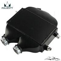 Dual Pass Top Mount Intercooler RAW Fits for B MW 15 18 M3(F80)/M4(F82/83) 8082R Black
