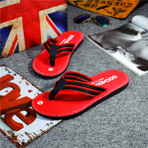 Image 4 - SHOFORT/Мужская обувь; Вьетнамки; Крутые мужские летние шлепанцы; Домашняя Нескользящая дышащая пляжная обувь; Уличные сандалии; Zapatos De Hombre