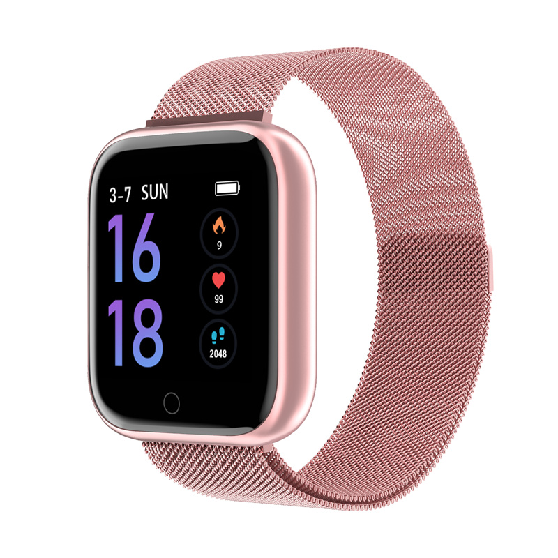 Bluetooth Smart Watch T80 Heart Rate Men Sport Bracelet Sleep Monitor Fitness Tracker Blood Pressure For Ios Android Phones