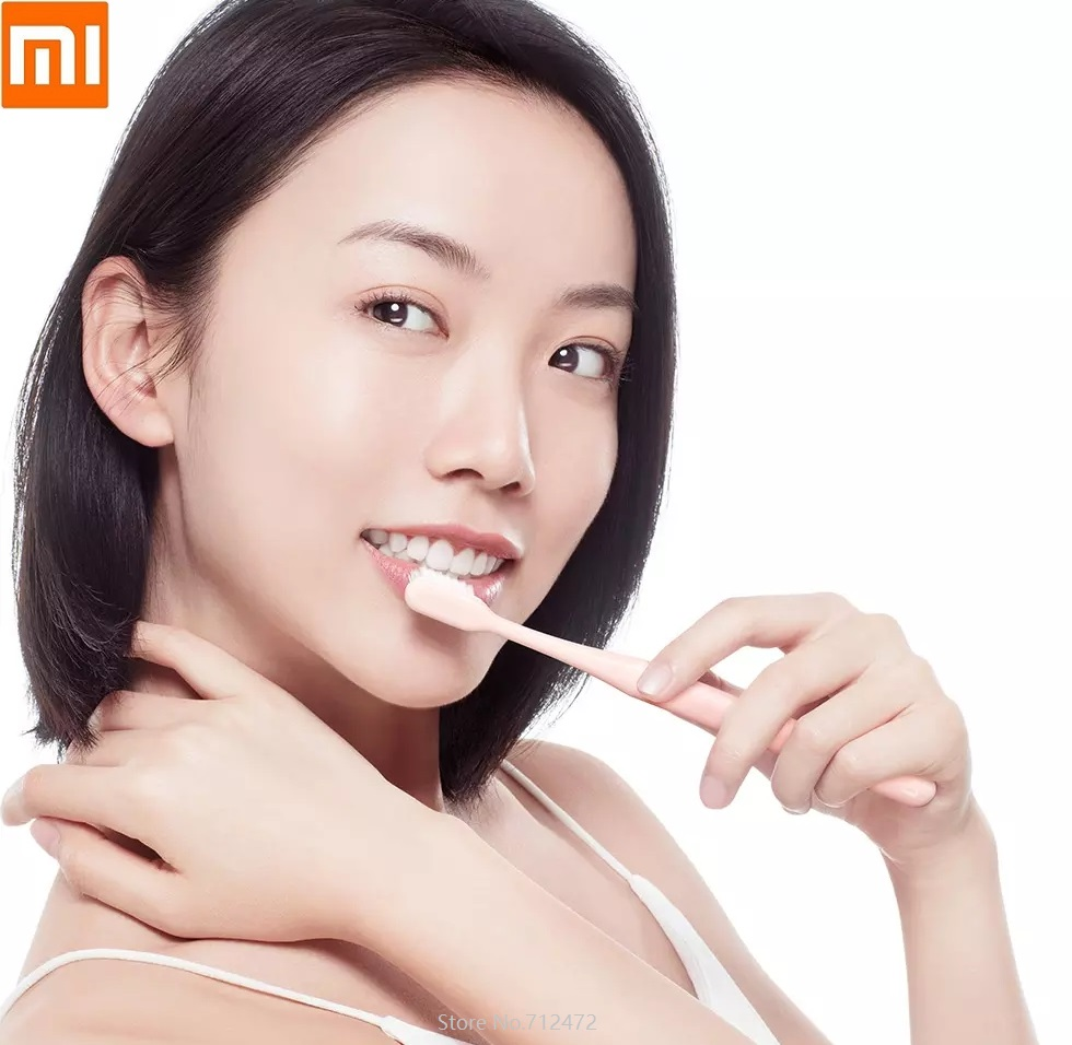 Xiaomi Mijia Superfine Soft Hair Toothbrush 10pcs Deep Clean Teeth Whitening Soft Bristle Toothbrush Tooth Teeth Brush Oral Care