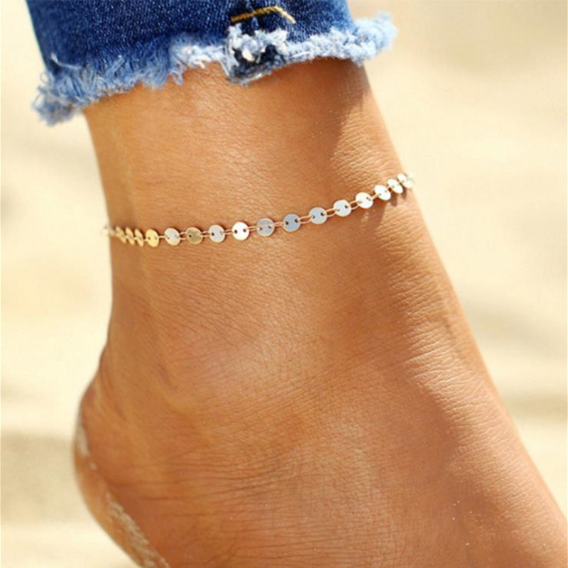 Sexy Anklet Ankle Bracelet Cheville Barefoot Sandals Foot Jewelry Leg Chain On Foot Pulsera Tobillo For Women Summer Beach Foot