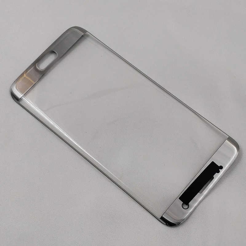 أوري استبدال الخارجي زجاج عدسة لسامسونج S7edge G935 s7edge g935 LCD شاشة تعمل باللمس الزجاج الأمامي الخارجي لوحة إصلاح أجزاء